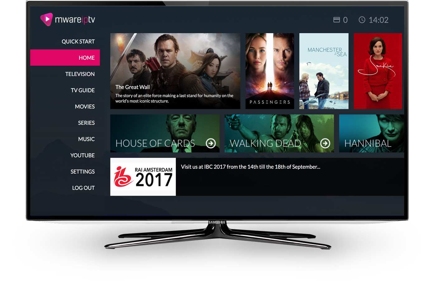 Mware Solutions Apukohai User Interface IPTV Middleware
