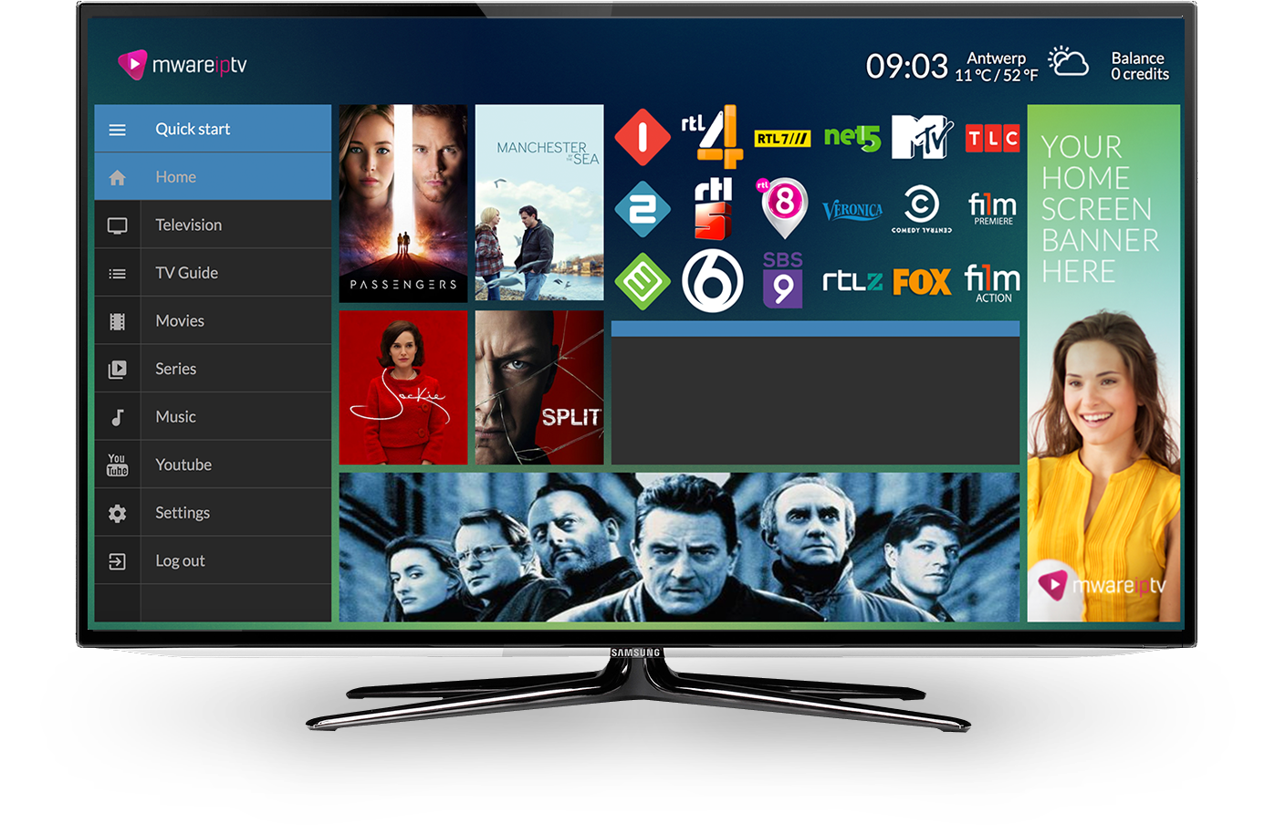 Mware Solutions Honua User Interface IPTV Middleware