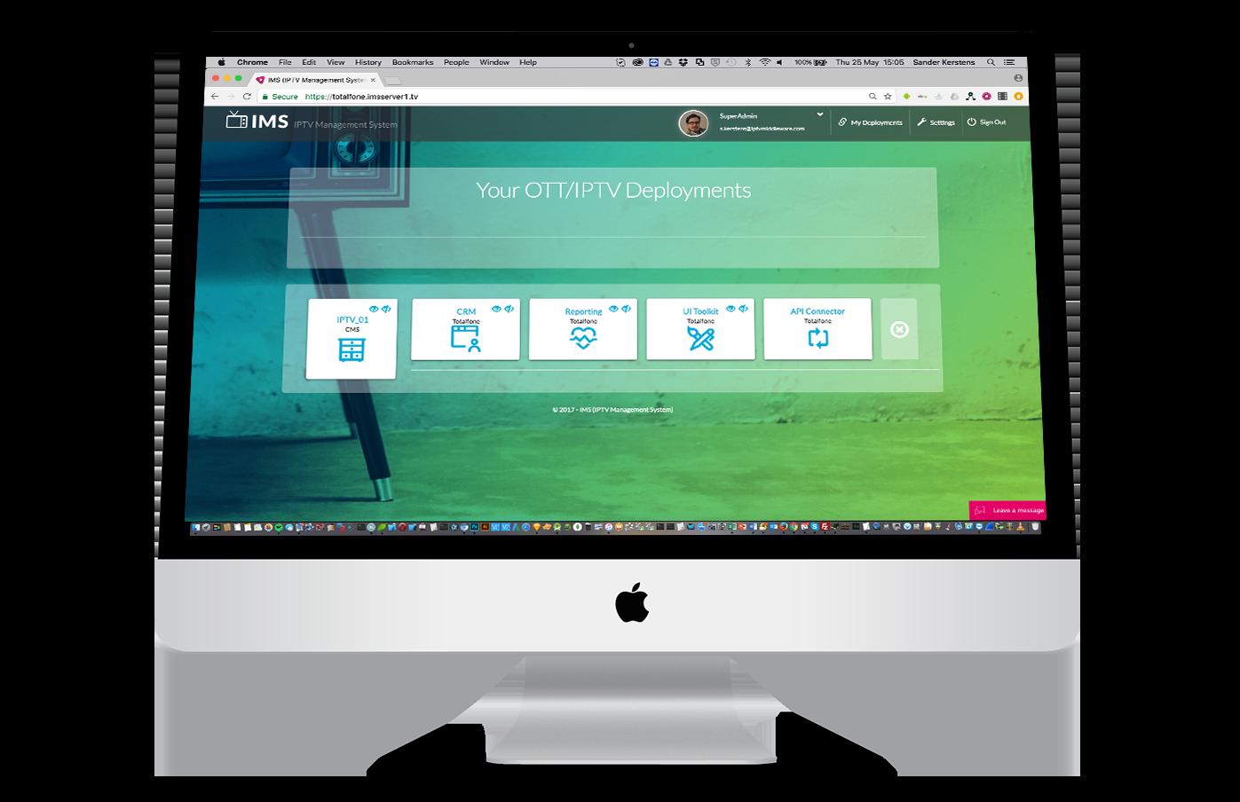 Mware Solutions OTT IPTV CloudTV Middleware