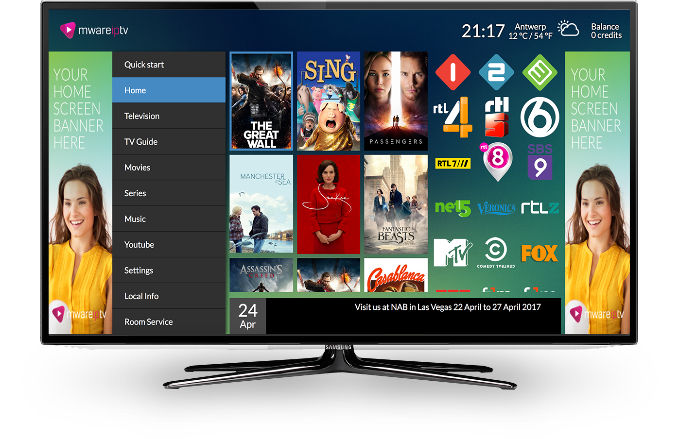 Mware Solutions Hiaka User Interface IPTV Middleware