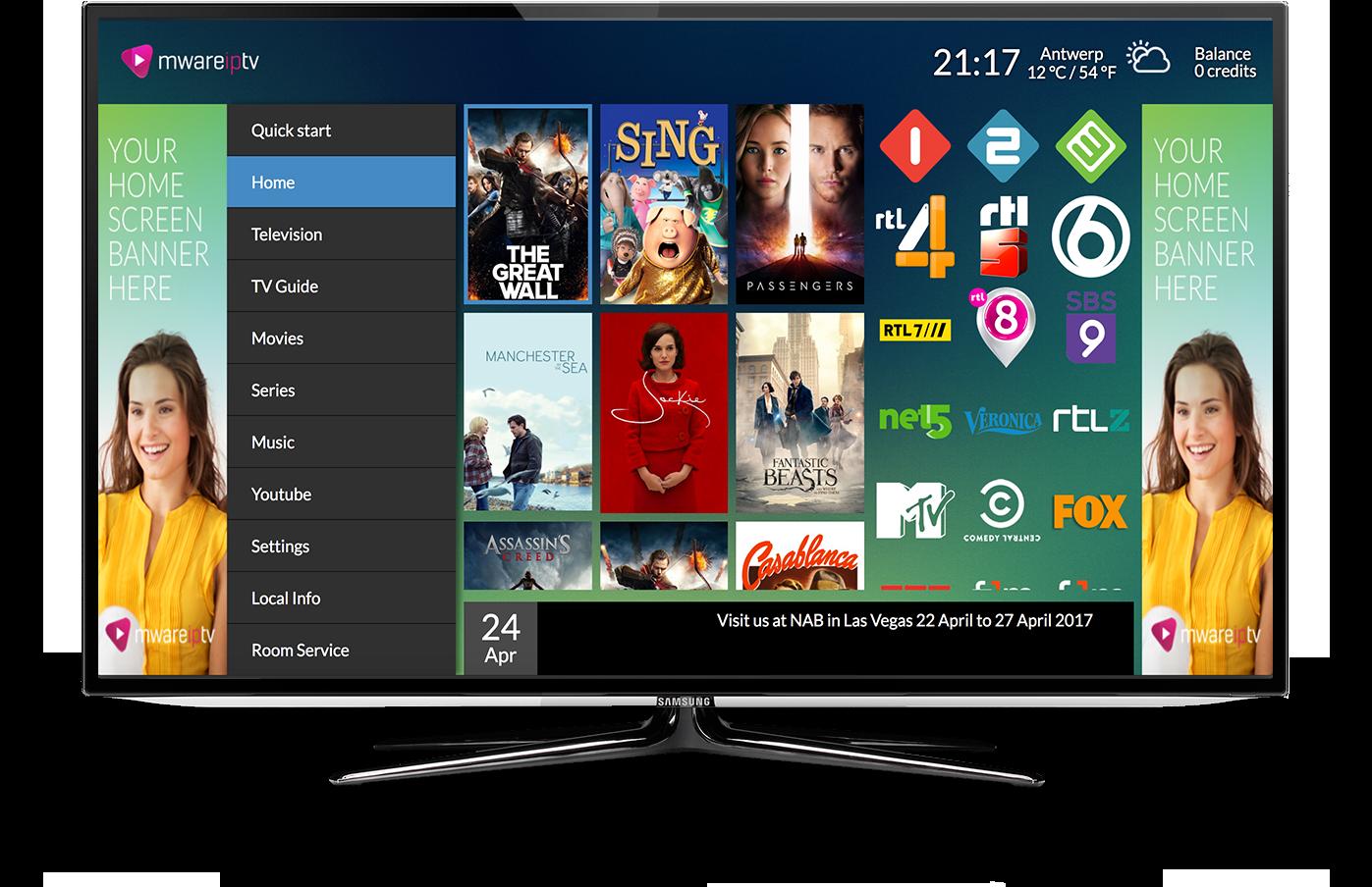 Mware Solutions Hiaka User Interface IPTV Middleware