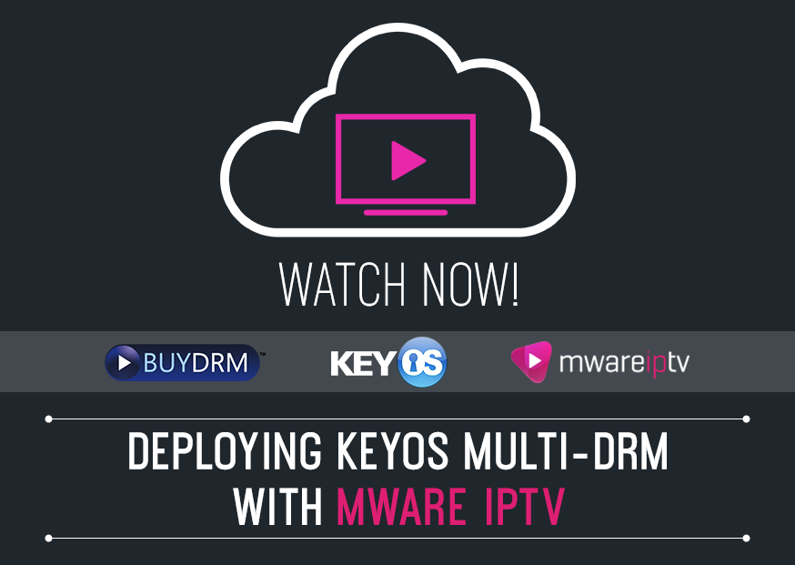 MWare Deploys BuyDRM's KeyOS MultiKey Service for the<span class=
