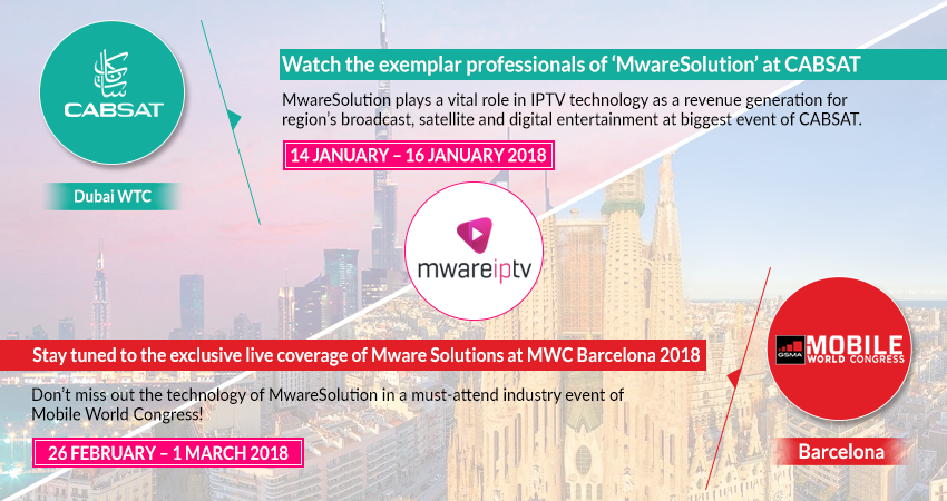 cabsat and mwc mix event banner - MwareIPTV